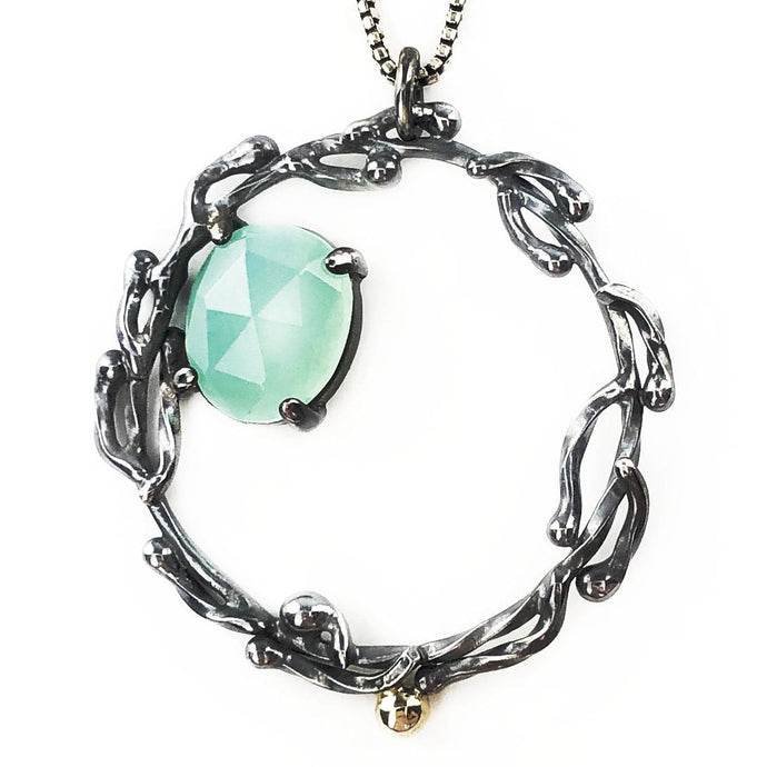 Ocean Current Necklace - Mettle by Abby