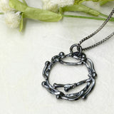 Petite Night Wreath Necklace
