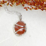 Petite Sunstone Necklace