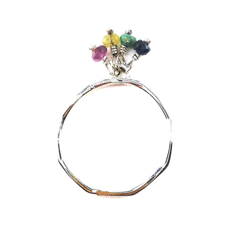 Petite Gem Fiesta Ring - Mettle by Abby