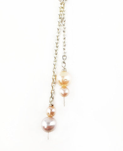 Powder Pink Lariat - Mettle by Abby