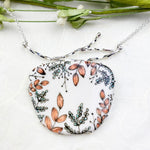 Queen of the Wood Statement Necklace