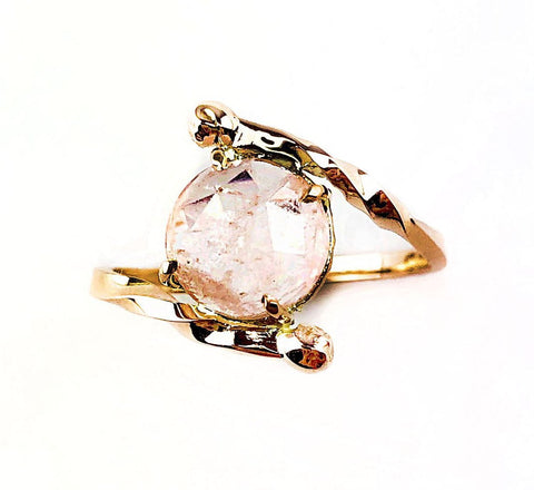 14k Morganite Dreams Ring - Mettle by Abby