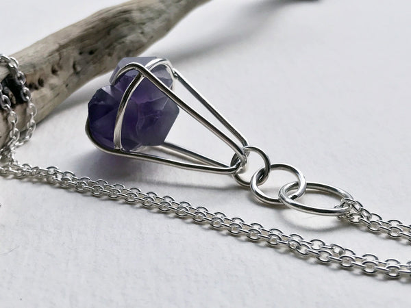 Handmade Amethyst Necklace