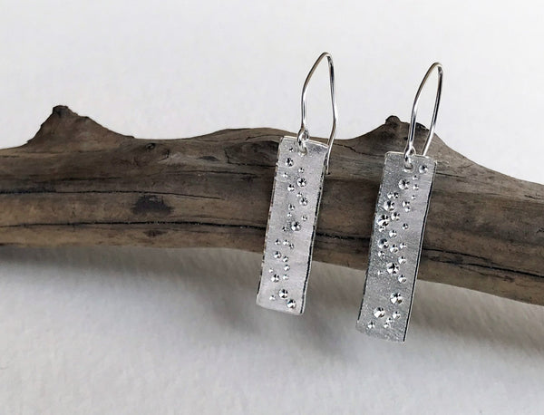 Star Dust Earrings - Traditional Length