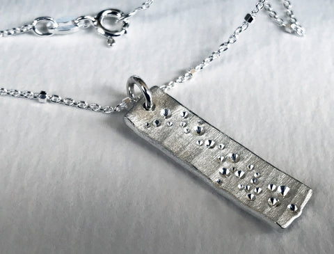 Star Dust Necklace- Traditional Length Pendant