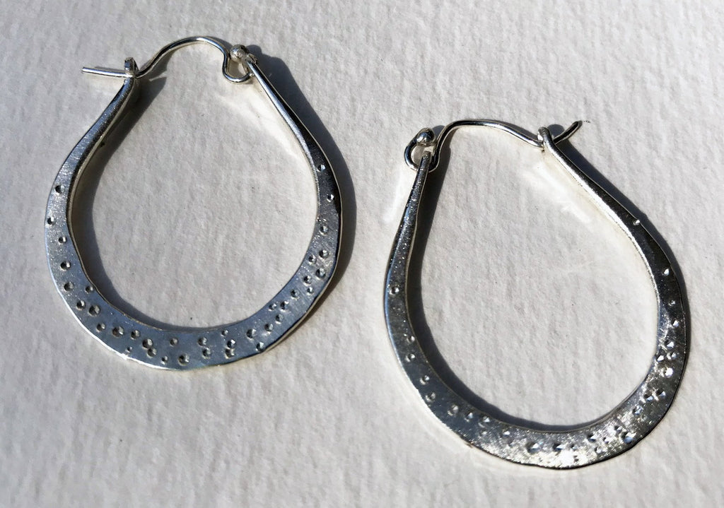 Star Dust Hoops