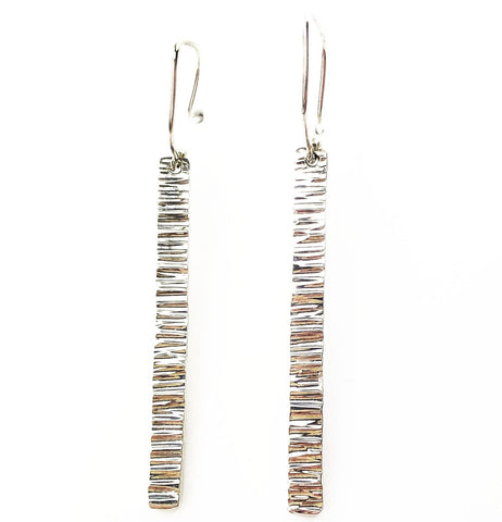 Silver Spire Earrings - Mettle by Abby