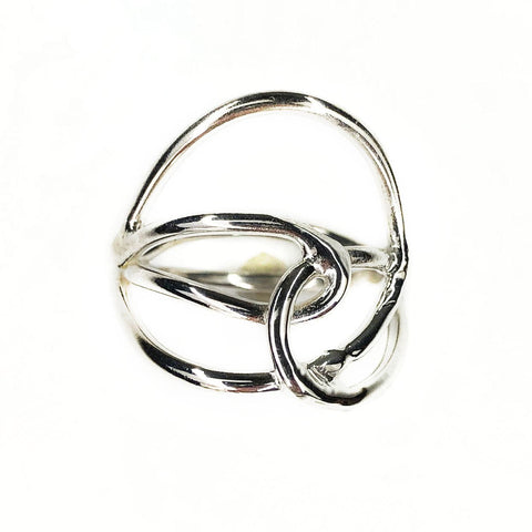 Silver Swirls Ring - Mettle by Abby