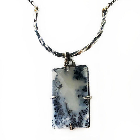 Snowy View Necklace - Mettle by Abby
