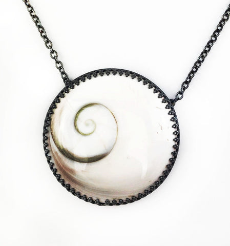 Voice from the Sea Necklace - Mettle by Abby