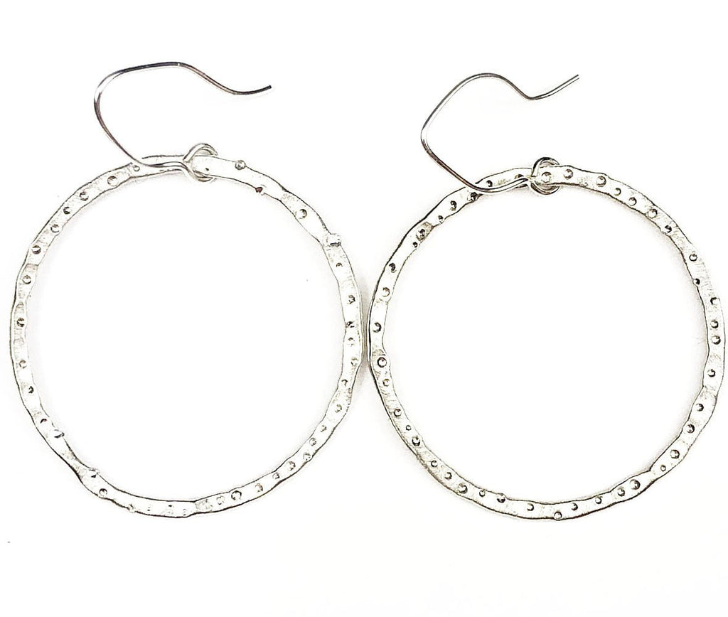 Star Dust Front Facing Hoops