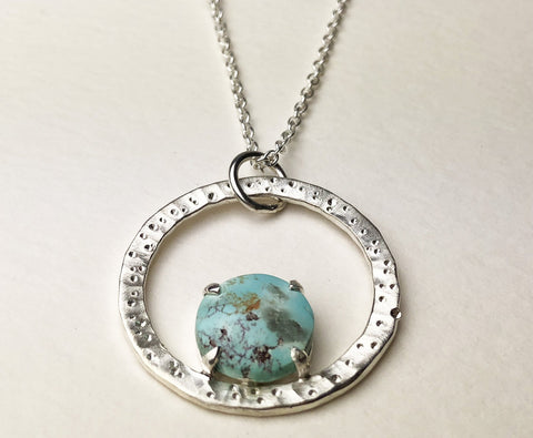 Star Dust Turquoise Necklace