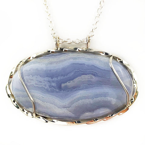 Swirling Clouds Necklace - Mettle by Abby