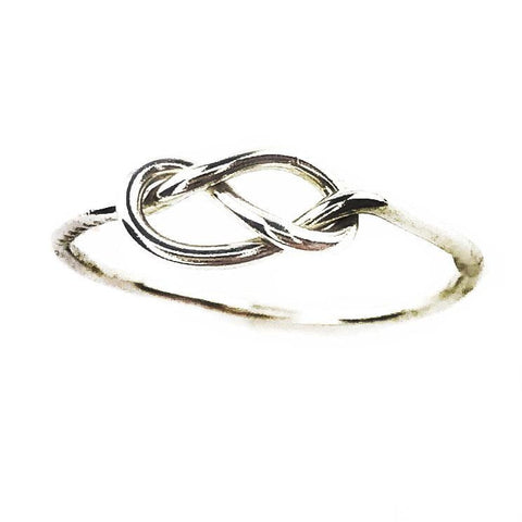 True Silver Knot Ring - Mettle by Abby