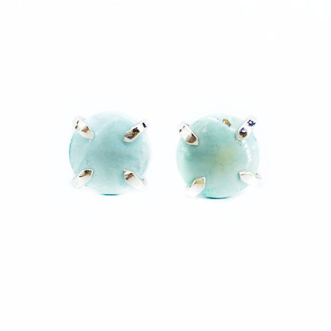 Turquoise Studs in Silver