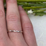 Twisted Stacking Ring