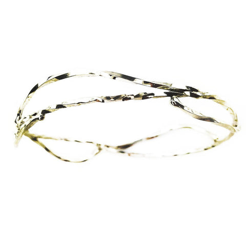 Twisting Branch Bangle - Mettle by Abby