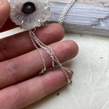 White Amethyst Blossom Necklace