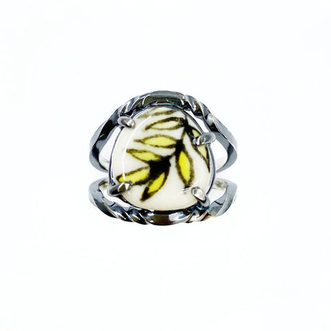 Yellow Fern Ring