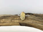 14K Summer Sun Sapphire Ring - Mettle by Abby