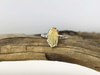 2.3 Carat Yellow Sapphire Two Tone Ring