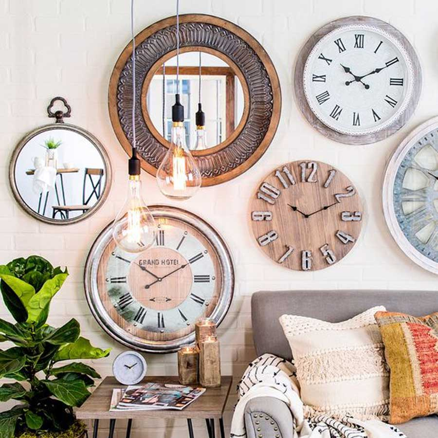 6 Wall Clock Ideas for Living Room