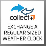 Exchange a regular sized Weather Clock