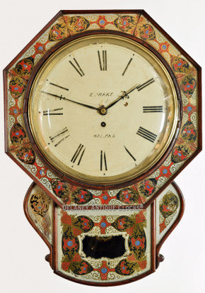 English Fusee Dial Clock
