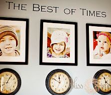 Clocks for members of the family