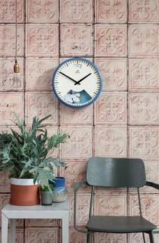 Bramwell Brown's unique Blue Wall Clock