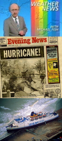 Facts about the Great Storm of 1987