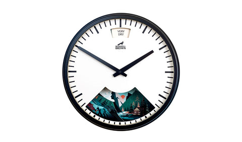 Into The Wild Weather Clock - Limited Edition