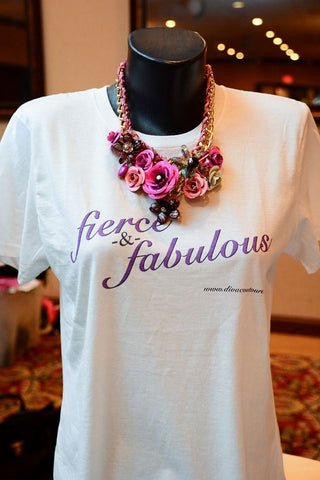 "Divacoutoure ""Fierce & Fab"" T Shirt"