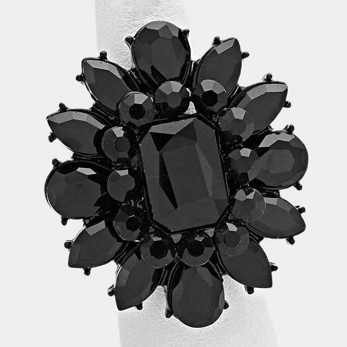 Black Acrylic Ring