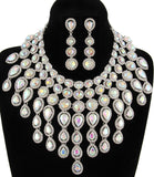 LUXE-Crystal Goddess Necklace Set