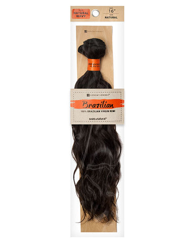 Brazilian Bundle •  Natural Wavy