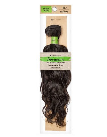 Peruvian Bundle • Loose Wave