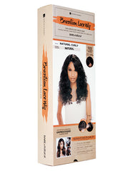 Bare & Natural | Brazilian Hair Lace Wig | Natural Curly | Packaging