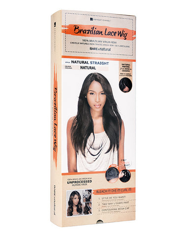 Brazilian Lace Wig Natural Straight