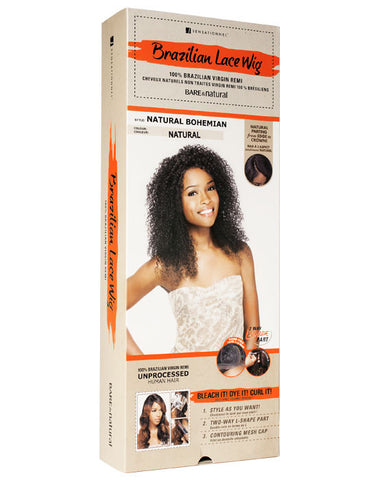 Brazilian Lace Wig Natural Bohemian