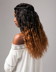 Bare & Natural | Hair Bundle | Brazilian Natural Wavy | Back