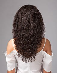 Bare & Natural | Brazilian Hair Lace Wig | Natural Curly | Back