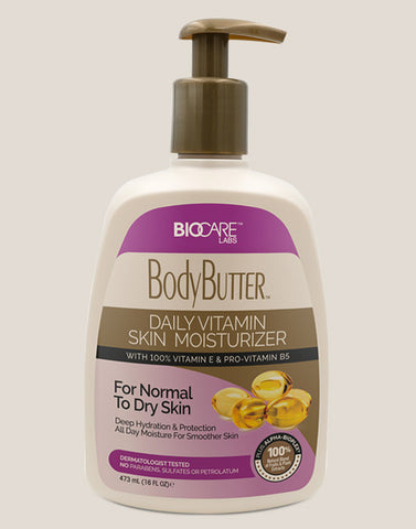 Body Butter • Daily Moist Vitamin E & B5