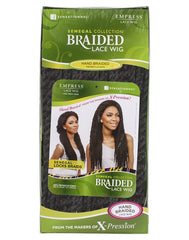 Sensationnel Empress Braided Lace Wigs - Senegal Loose Deep Braids - Packaging