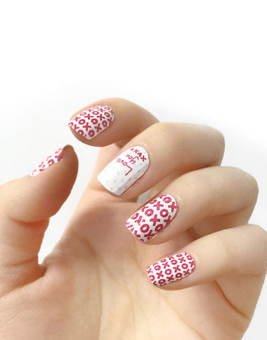 Design Nail - Love Note