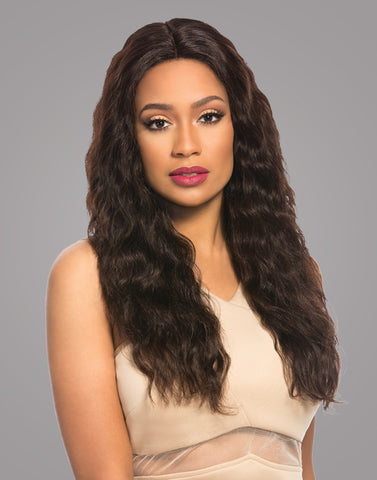 Brazilian 4x4 Swiss Lace Wig • Loose Wave