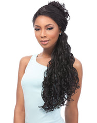 Sensationnel Empress Braided Lace Wigs - Senegal Loose Deep Braids - Alt