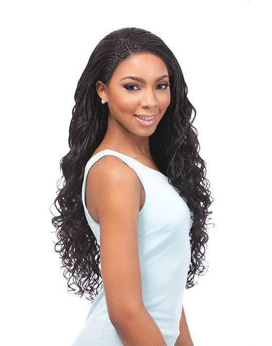 Sensationnel Empress Braided Lace Wigs - Senegal Loose Deep Braids