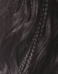 Sensationnel Empress Braided Lace Wigs - Senegal Loose Deep Braids - Closeup